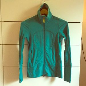 Green lululemon jacket